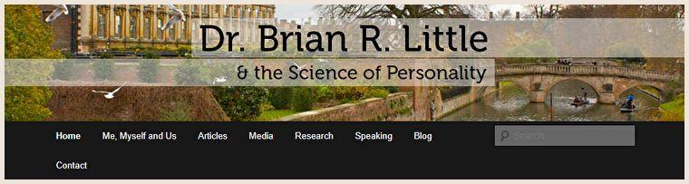 ブライアン・リトル博士のWebサイト
