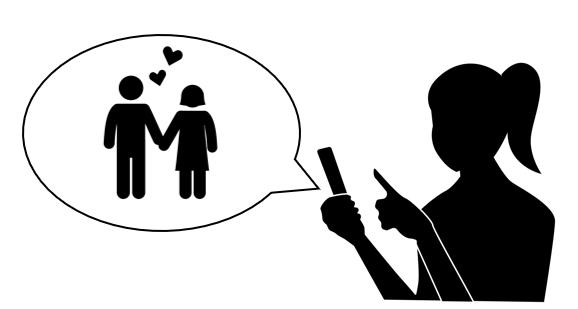 マンガで解説「携帯で問い詰める」