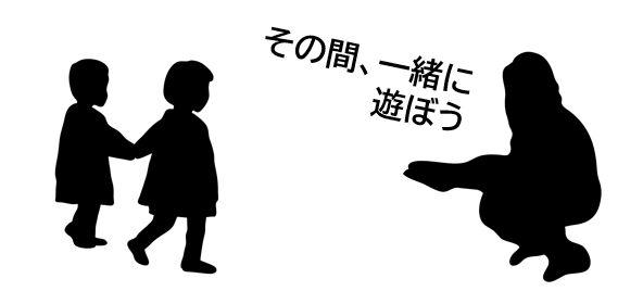 未就学児への伝え方について図解
