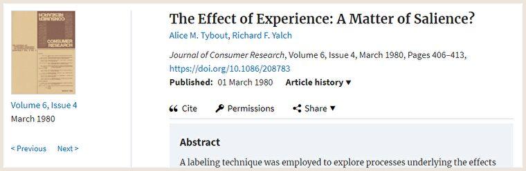 ラベリング理論に関する投票の実験論文