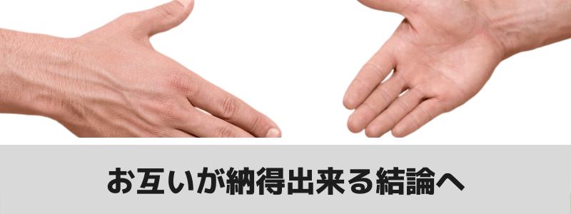 握手の図と注釈